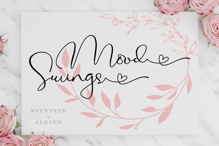 Mood Swings Font