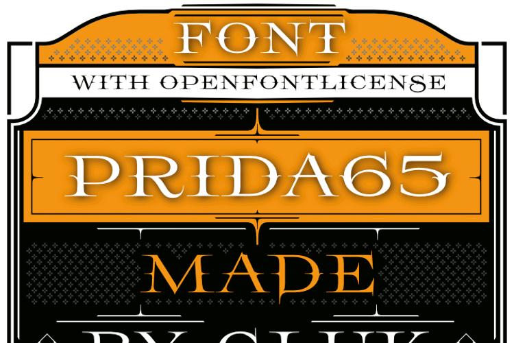 Prida65 Font
