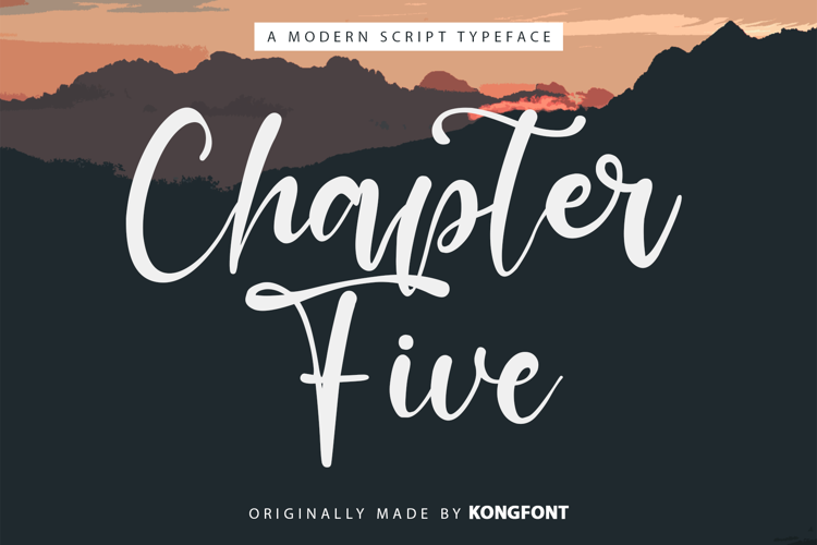 Chapter Five Font