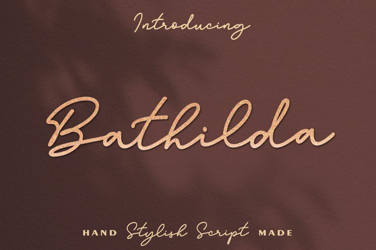 Bathilda Font