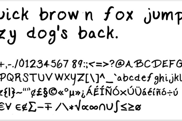 KC Script Font