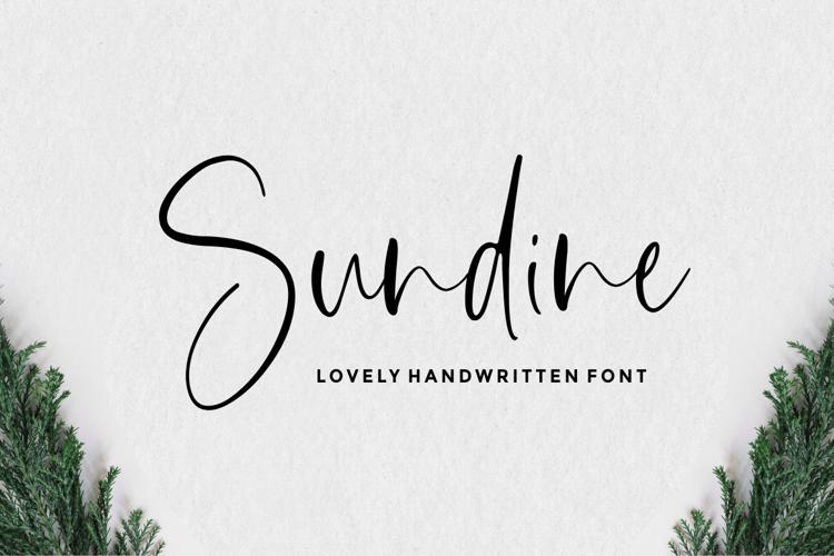 Sundine Font