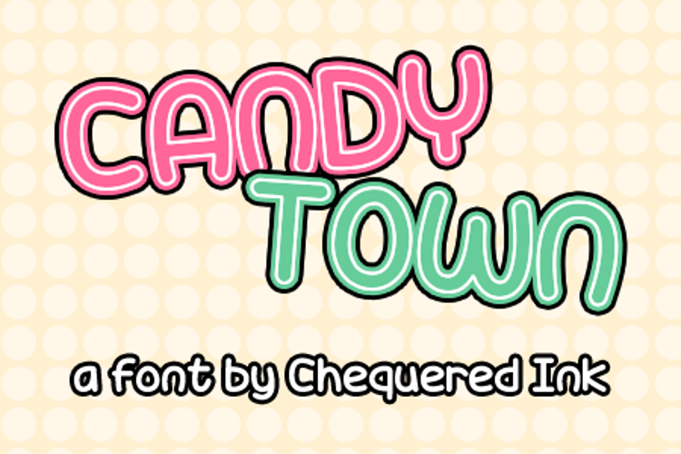 Candy Town Font