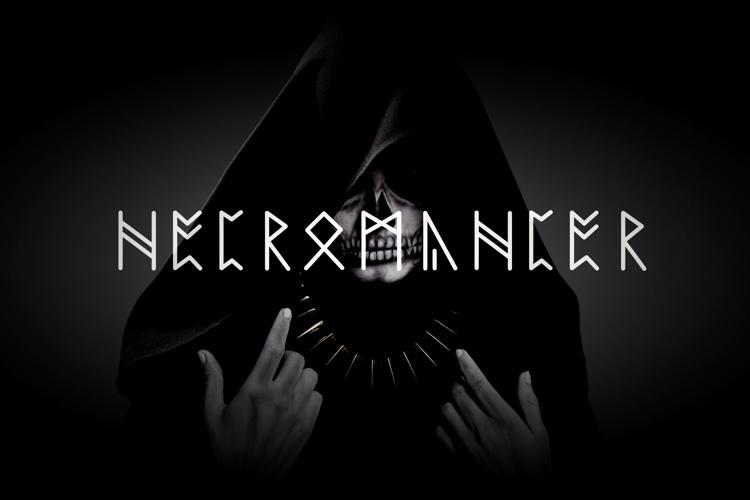 NECROMANCER Font