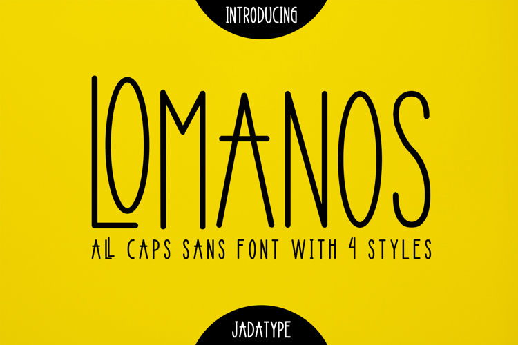 Lomanos Font