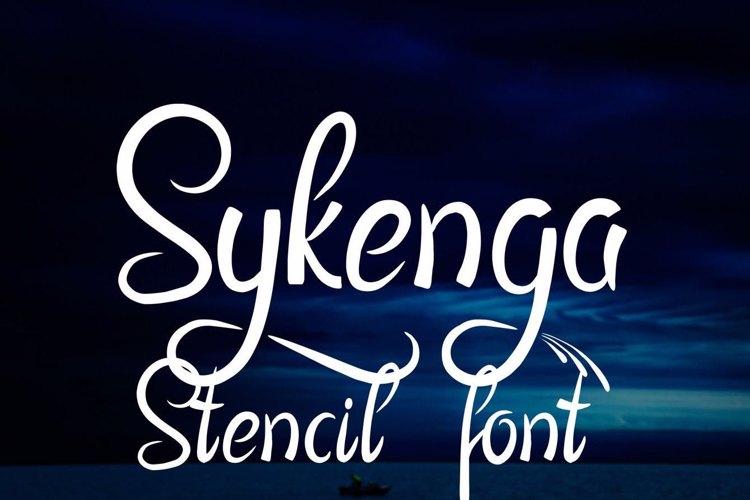 Sykenga Font