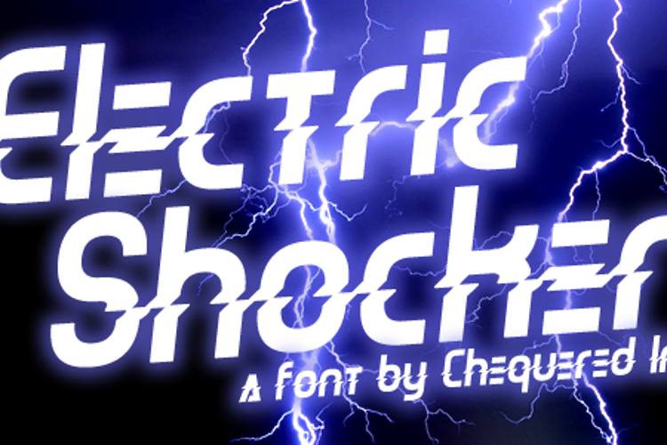 Electric Shocker Font