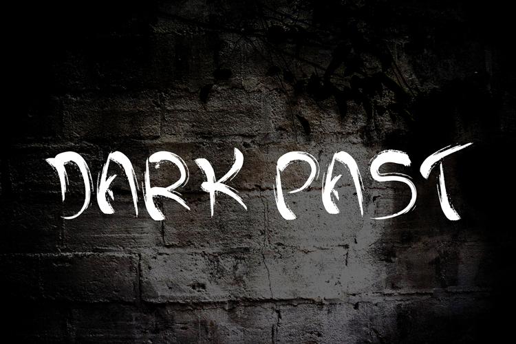 Dark past Font