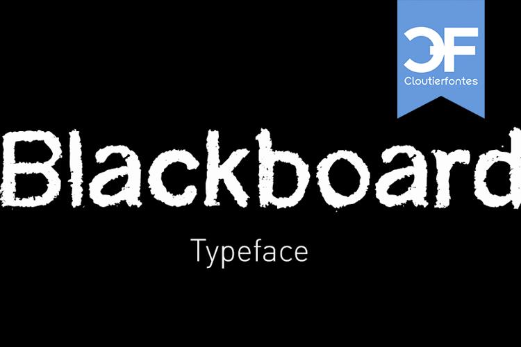 CF Blackboard Font