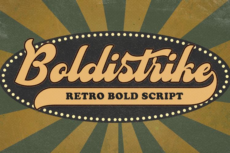Boldistrike DEMO Font
