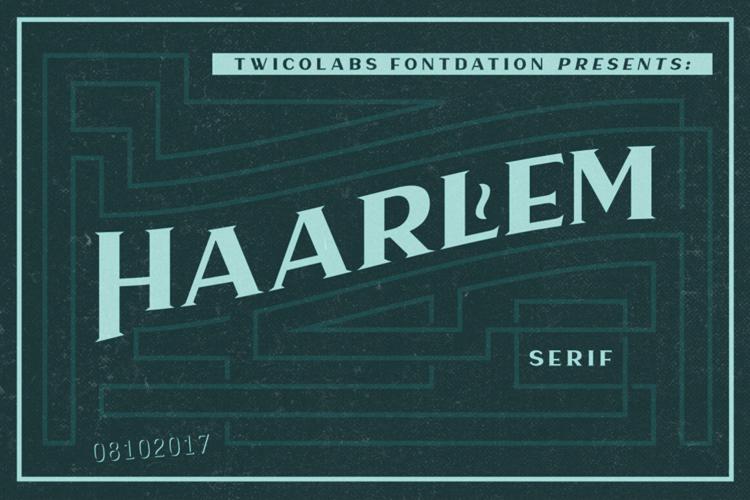Haarlem Serif Demo Font