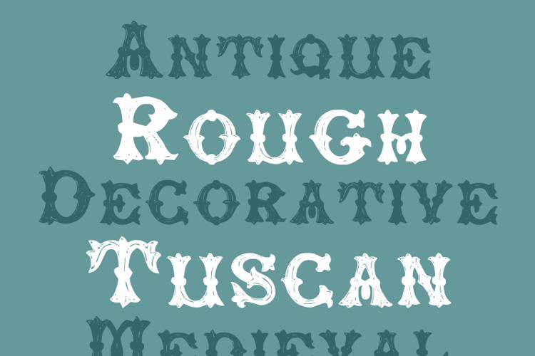 RoughTuscan Font