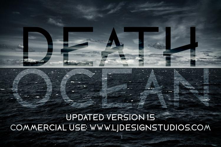 DEATH OCEAN Font
