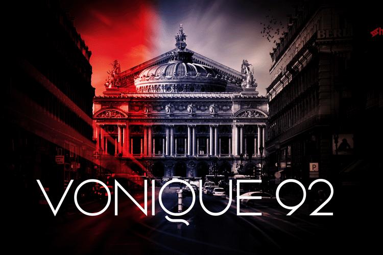 Vonique 92 Font