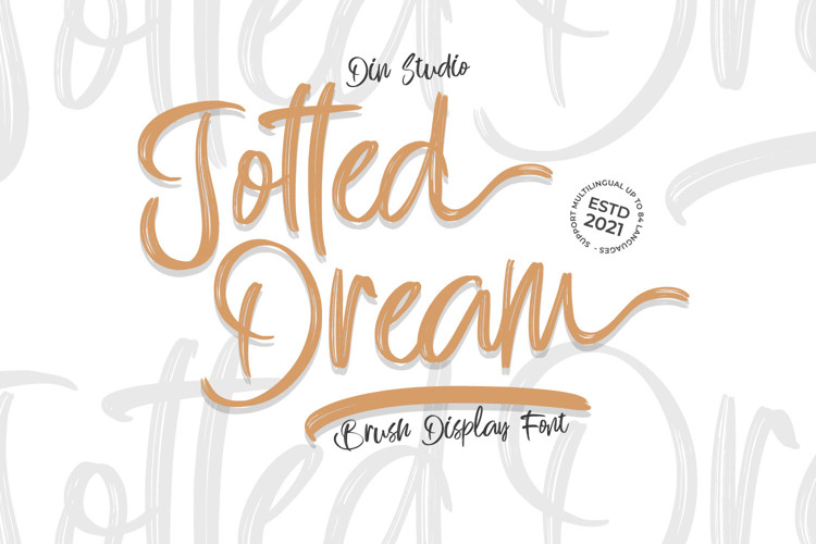 Jotted Dream Font