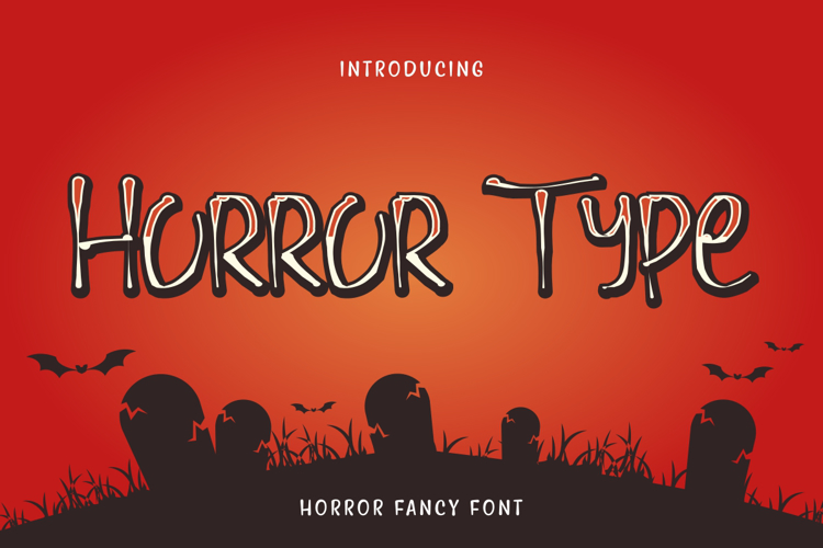 Horror Type Font