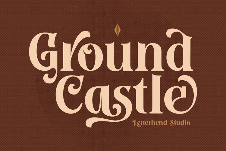Ground Castle Font