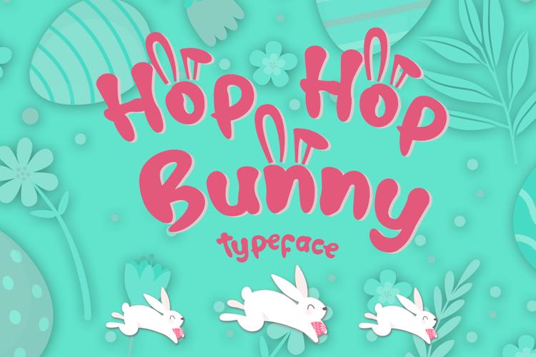 Hop Hop Bunny Font