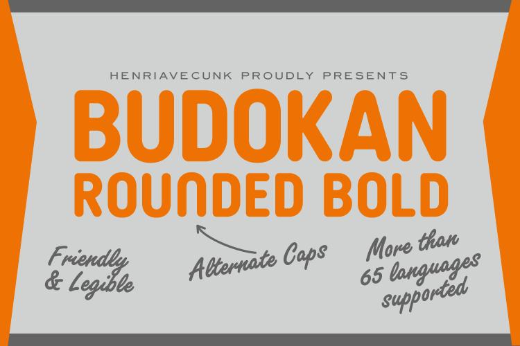 Budokan Rounded Bold Font