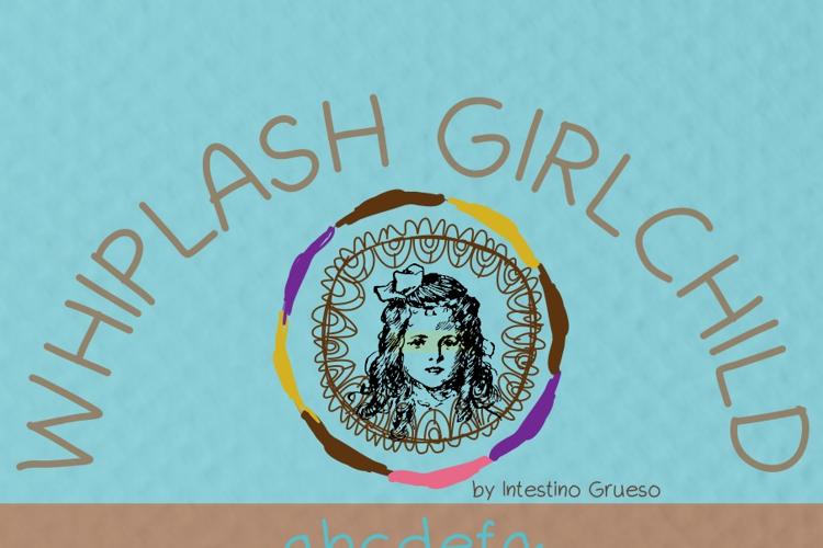 Whiplash girlchild Font