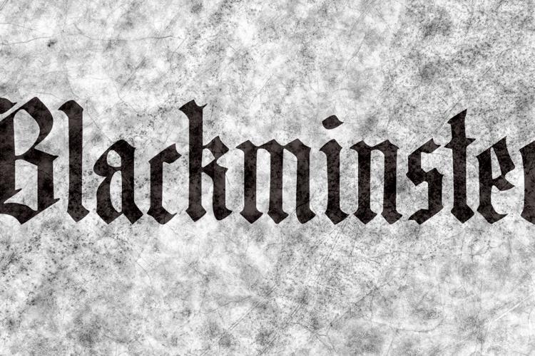 DK Blackminster Font