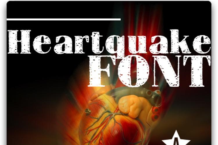 HEARTQUAKE Font