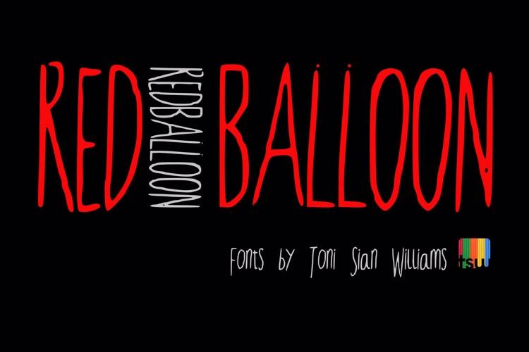 RedBalloon2 Font