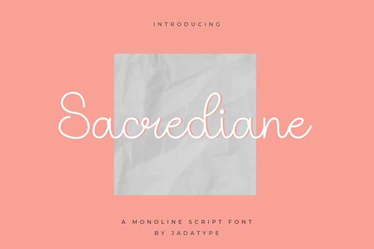 Sacrediane Font