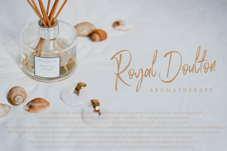 Rose Brown Font