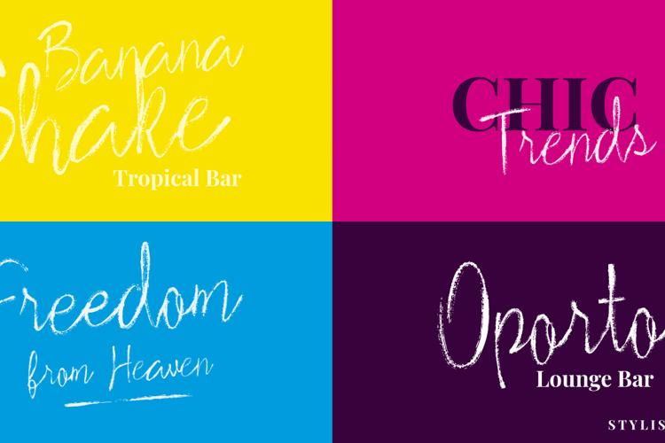 Stylish Marker Font