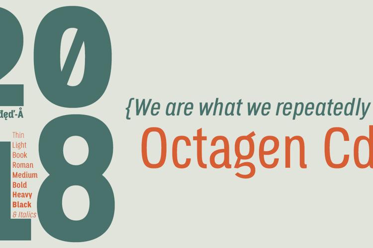 Octagen Light Font