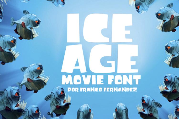 Ice Age Movie Font