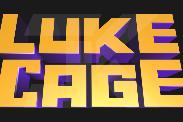 Marvel's Luke Cage Font