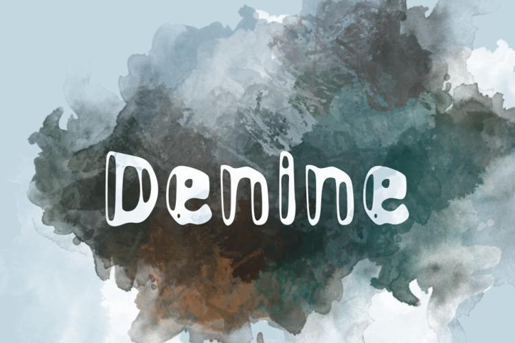 d Denine Font