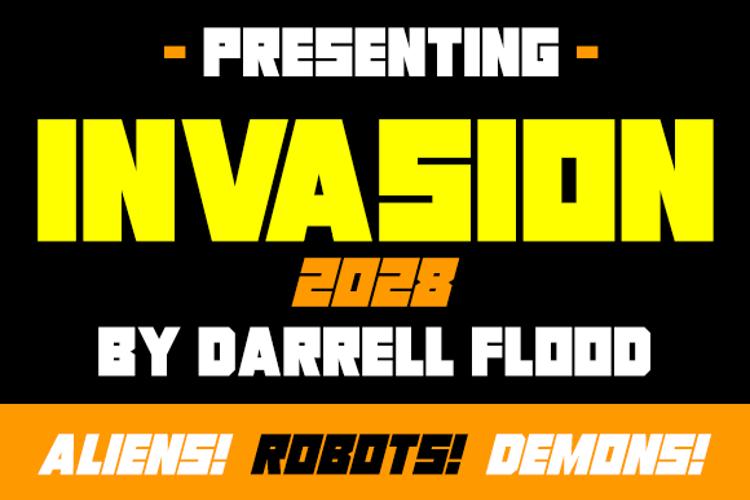 Invasion 2028 Font