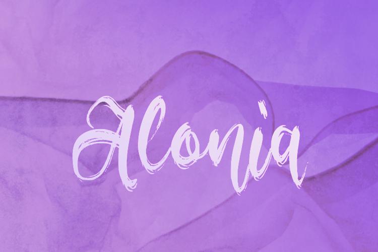 a Alonia Font