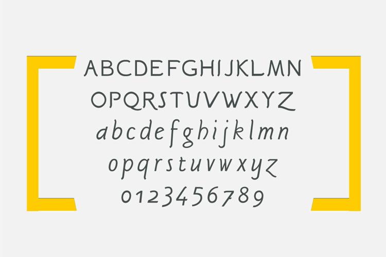 Sgriffo Font