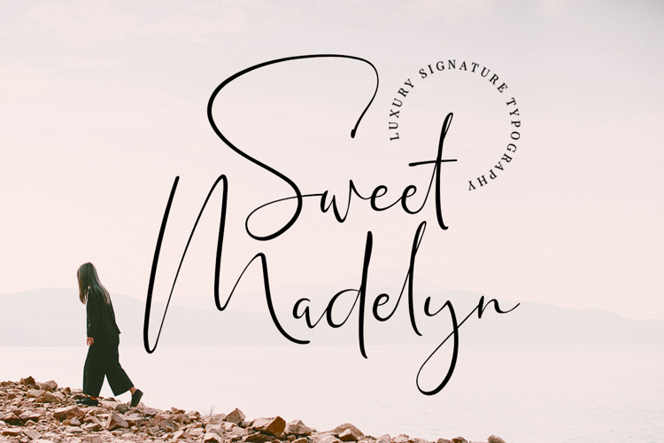 Sweet Madelyn Font