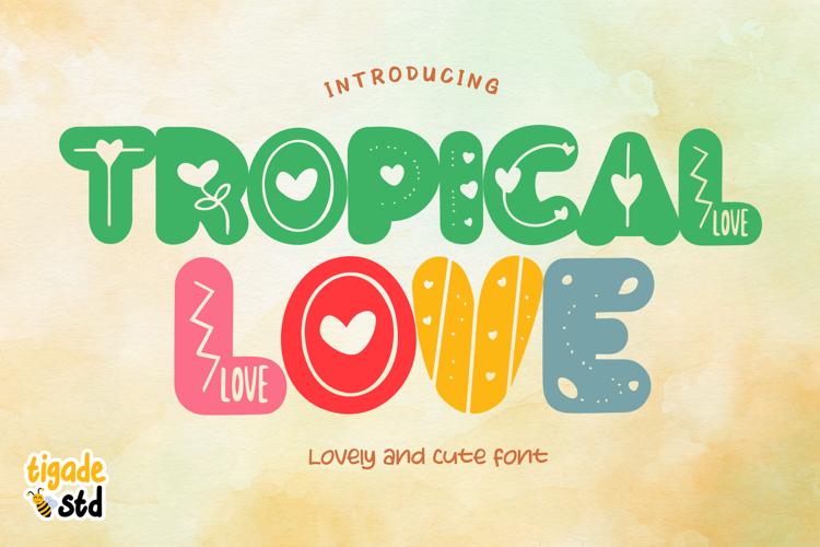 Tropical Love Font
