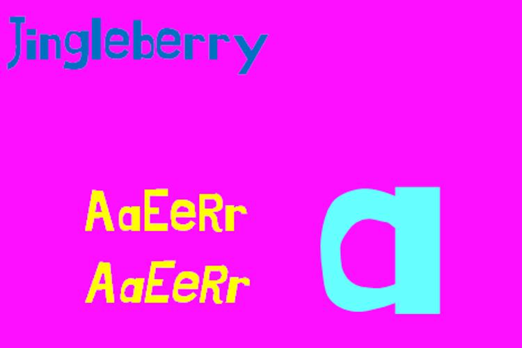 Jingleberry Font