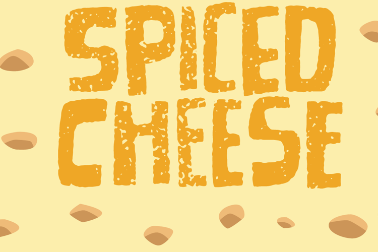 Spiced Cheese Font