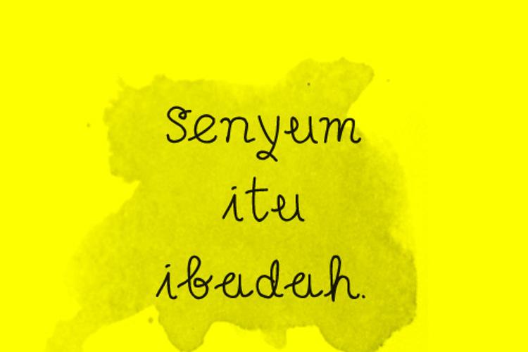 Senyum Font