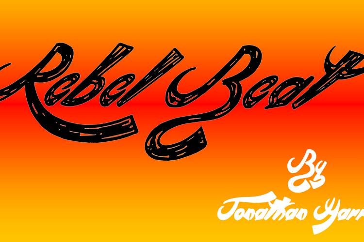 Rebel Beat Font