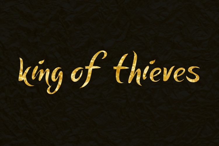king of thieves Font