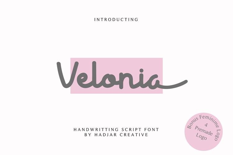 Velonia Font