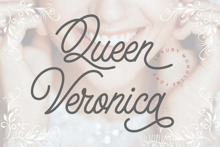 Queen Veronica Font