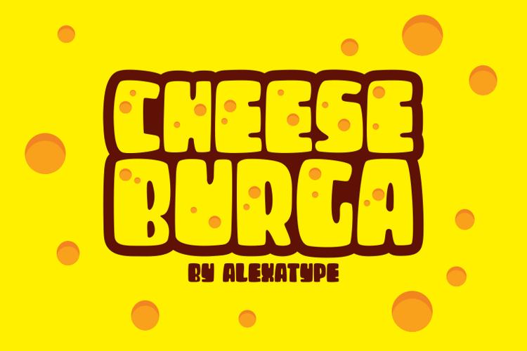 CHEESEBURGA Font