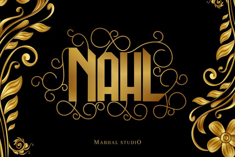 NAHL Font