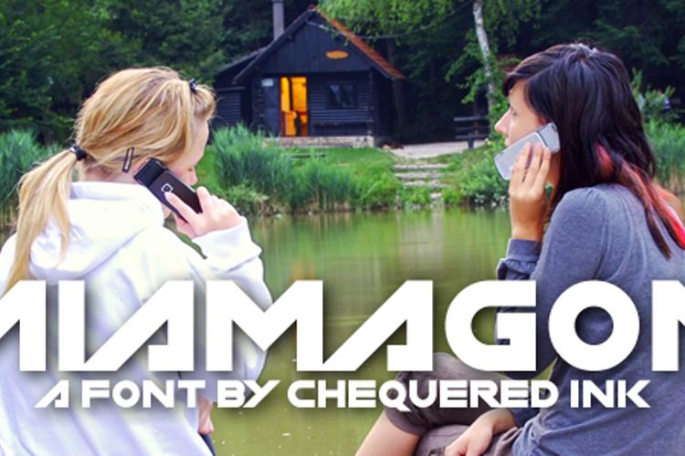 Miamagon Font