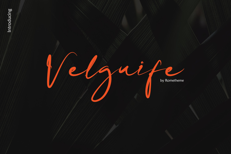 Velguife Font